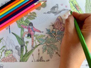 Exemple de coloriage